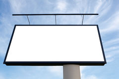 Giant billboard Stock Photography