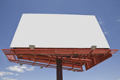 Giant Blank Billboard Royalty Free Stock Images