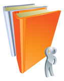 Giant book education concept Royalty Free Stock Photo