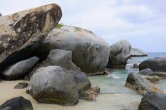 Giant Boulders at Baths National Park Stock Images
