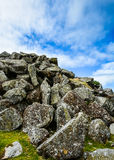 Giant boulders in Dartmoor, England Stock Photos