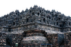 Giant Brick Buddha temple Borobudur Stock Photos