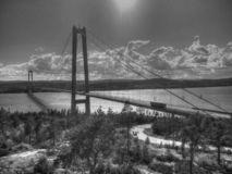 Giant bridge royalty free stock image