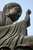 The Giant Budda. In asia Royalty Free Stock Image