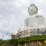Giant Budda Statue in Phuket Royalty Free Stock Photos