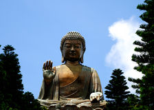 Giant Buddha Royalty Free Stock Images