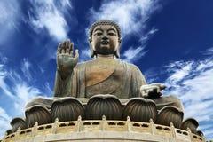 Giant Buddha royalty free stock photos
