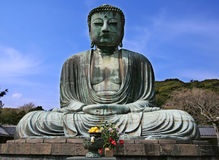 Giant Buddha. In Kamakura, Japan Royalty Free Stock Photography