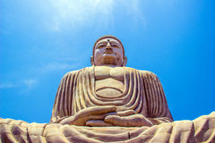 Giant Buddha in Bodhgaya, Bihar Stock Photography