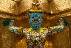 Giant Buddha in Grand Palace, Bangkok, Thailand Royalty Free Stock Images