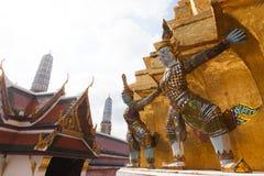 Giant Buddha in Grand Palace. Bangkok, Thailand Stock Photo