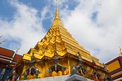 Giant Buddha in Grand Palace. Bangkok, Thailand Stock Photos