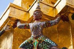 Giant Buddha in Grand Palace. Bangkok, Thailand Stock Photography