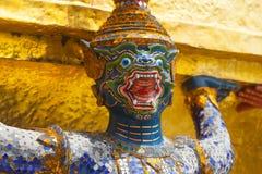 Giant Buddha in Grand Palace. Bangkok, Thailand Royalty Free Stock Images
