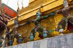 Giant Buddha in Grand Palace. Bangkok, Thailand Stock Image