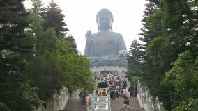 Giant Buddha in Hong Kong Stock Photos