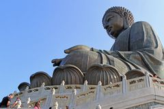 Tian Tan Giant Buddha  Stock Photo