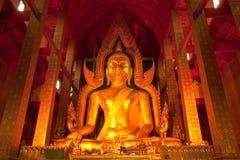 Giant Buddha image in Thailand Royalty Free Stock Photo