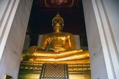 Giant Buddha image Stock Images