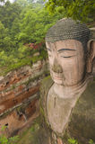 Giant buddha in leshan,china Royalty Free Stock Image