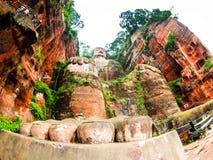 Giant Buddha in Leshan Royalty Free Stock Photo