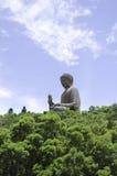 Giant Buddha Po Lin in Hong Kong, Lantau Island Royalty Free Stock Photo