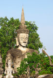 Giant Buddha's sculpture, Thailand Royalty Free Stock Photo