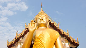 Giant Buddha, is a sacred right to be respected. Giant Buddha in Thailand, is a sacred right to be respected Royalty Free Stock Images