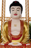 Giant Buddha Statue with Chinese Style. In Phitsanulok - Thailand royalty free stock photography