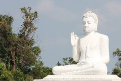 The giant buddha statue of Mihintale. Sri Lanka Stock Photography