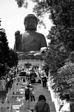 Giant Buddha Statue at Po Lin Monastery Stock Photography