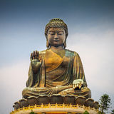 Giant Buddha Statue in Tian Tan Royalty Free Stock Image