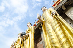 Giant Buddha at Wat Phra That Su Thon Mongkhon Khiri Samakkhi Royalty Free Stock Images