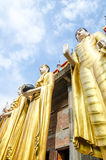 Giant Buddha at Wat Phra That Su Thon Mongkhon Khiri Samakkhi Stock Photo