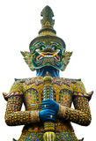 Giant in Buddhism. On white background Stock Photography