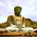 Giant Budha. Of Kamakura Royalty Free Stock Image