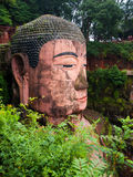 Giant Budha. The largest Budha in the world (Leshan, Sichuan, China Stock Photo