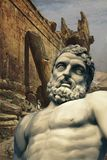 The giant builders of Baalbek royalty free stock image
