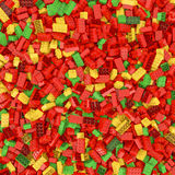 Giant building blocks background Stock Images