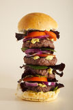 Giant Burger Royalty Free Stock Images