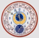 Giant Calendar Wall Clock Stock Images