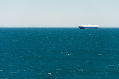 Giant cargo carrier ship Royalty Free Stock Image