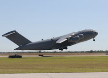Giant cargo jet Stock Photography