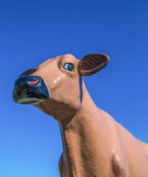 Giant Cattle Statue Head Shot Royalty Free Stock Photo