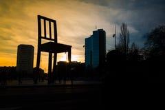 Giant Chair in Geneva Stock Image