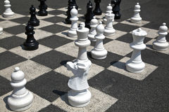 Giant chess Stock Photo