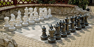 Giant Chess Stock Images