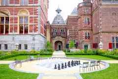 Giant chess library near Amsterdam Royalty Free Stock Photo