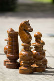 Giant Chess Pieces Stock Images