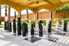 Giant Chess Stock Image
